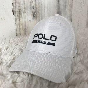 Ralph Lauren | White Polo Sport Hat